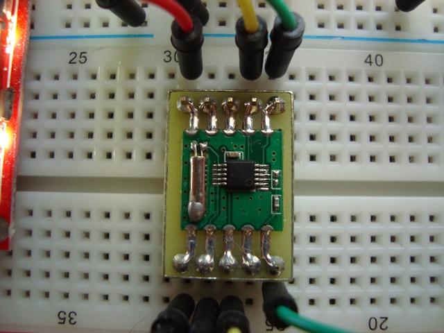 FM радио модуль RDA5807M