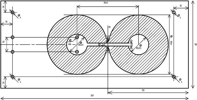 Антенна из магнитных дисков своими руками 93