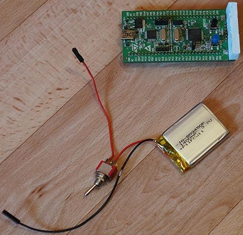Контроллер, выключатель и аккумулятор