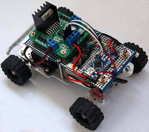 Arduino CxemCAR