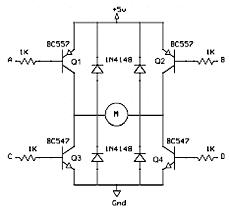 H-мост на биполярных транзисторах
