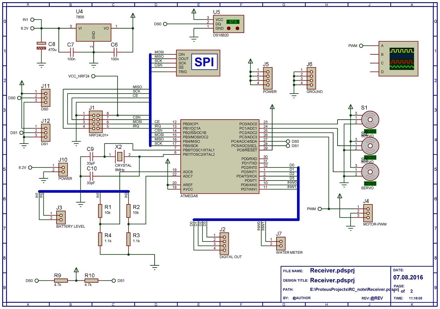Радиоуправление на микроконтроллере своими руками 24
