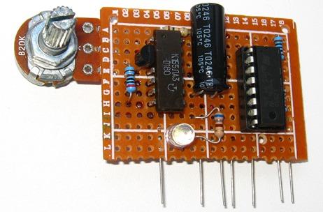 Модуль управления двигателями