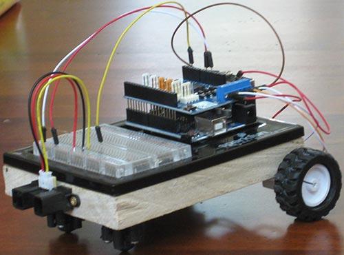 CARduino – самодельный робот