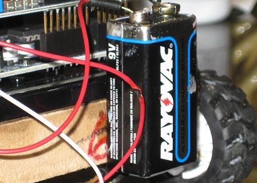 Установка батареи
