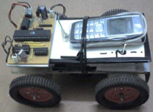 Машинка управляемая сотовым