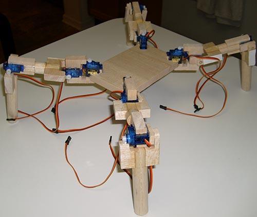 Изготовление платформы робота