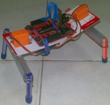 Схема ходячего робота