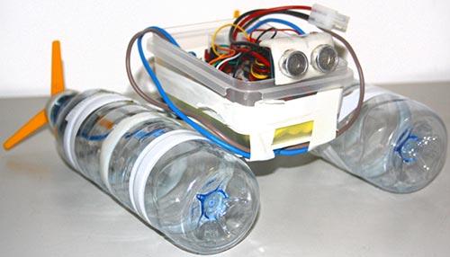 плавающего робота из
