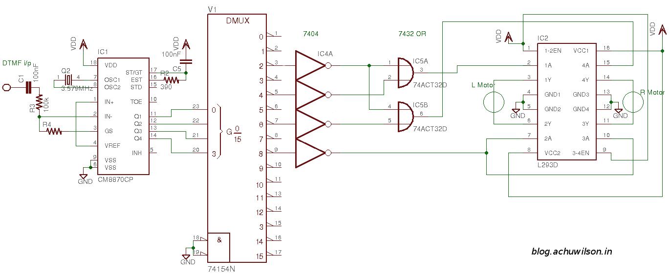 Схема машинки